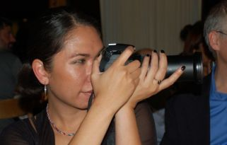 Chala from the Carlisle Group, with a serious camera!