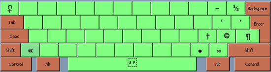 Keyboard mappings - 1