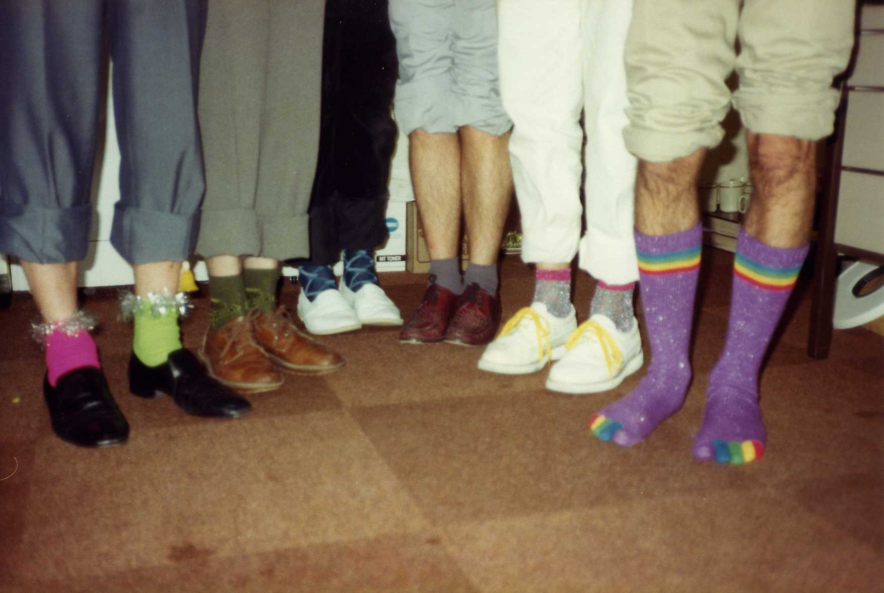 Office sock competition
